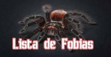 Lista de Fobias