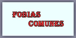 Lista de Fobias Comunes
